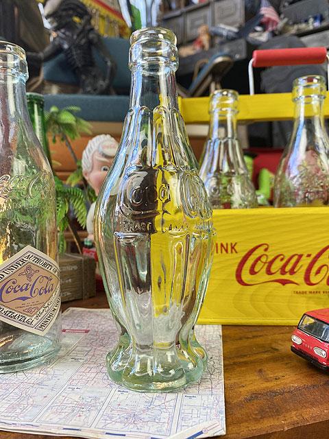 コカ・コーラ ヴィンテージボトルコレクション6本セット(ウッド製カートンボックス付き)