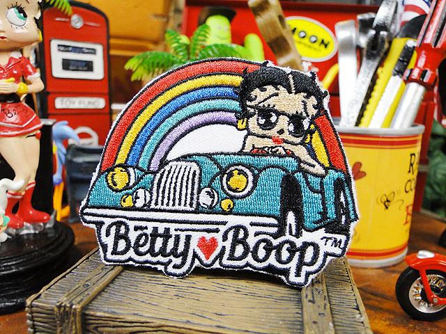 ベティ・ブープのワッペン(ドライブベティ)