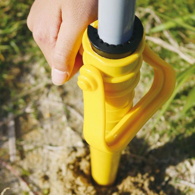 スイカのビーチパラソル 180cmサイズ UVカット加工(収納袋&設置用ペグ付属)