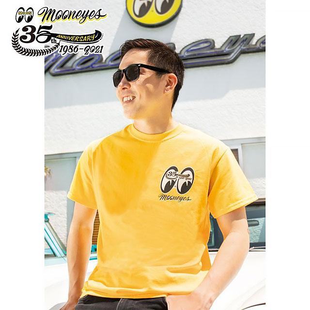 ムーンアイズ35周年アニバーサリー リミテッド・Tシャツ(Mサイズ)