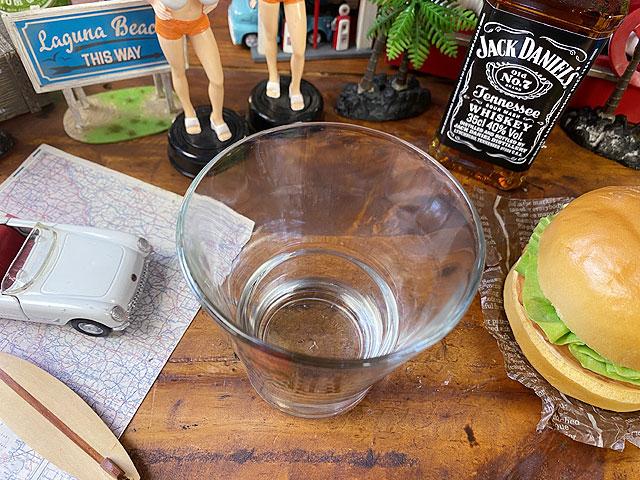 バカルディのロックグラス