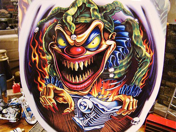 バイカーズステッカー(KillerClown)