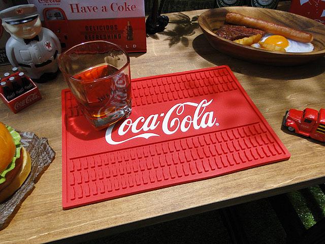 コカ・コーラのバーマット(レクタングル)