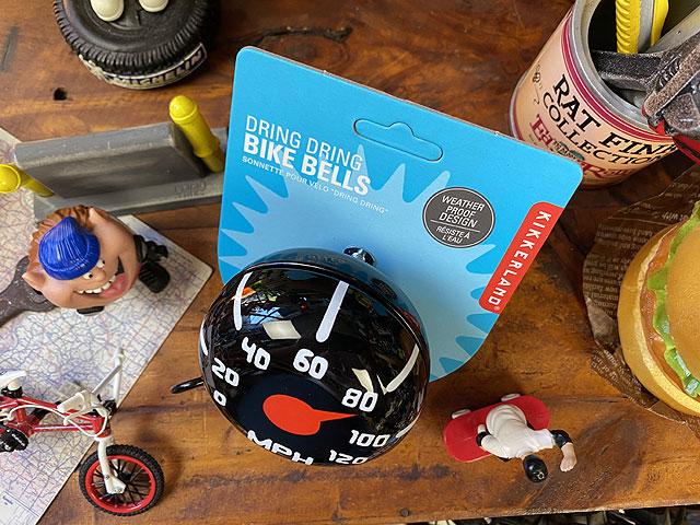 スピードメーターの自転車リンリンベル