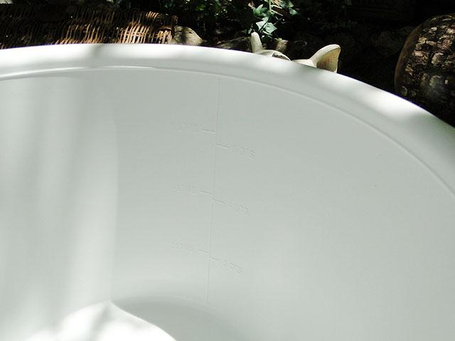 アメリカのバケツ 7.5L FORTIFLEX TUB 8QT(ホワイト)