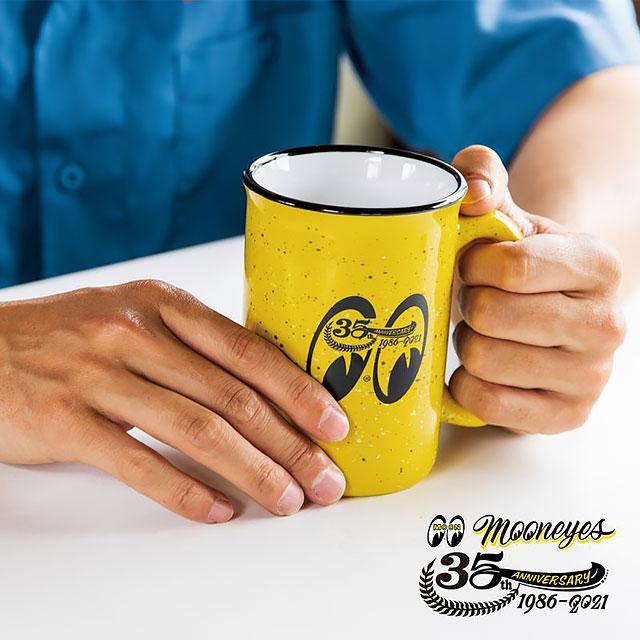 ムーンアイズ35周年アニバーサリー トールキャンプファイヤーマグ