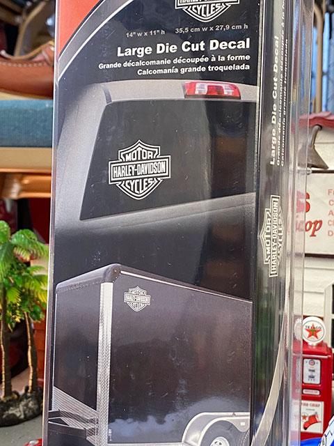 ハーレーダビッドソン オフィシャルステッカー ビッグサイズ・ダイカットデカール(バー&シールド)