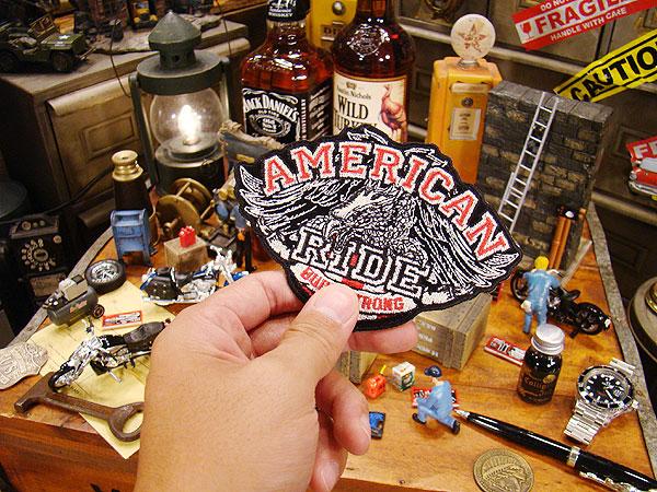 アメリカンバイカーズワッペン(American Ride Eagle)