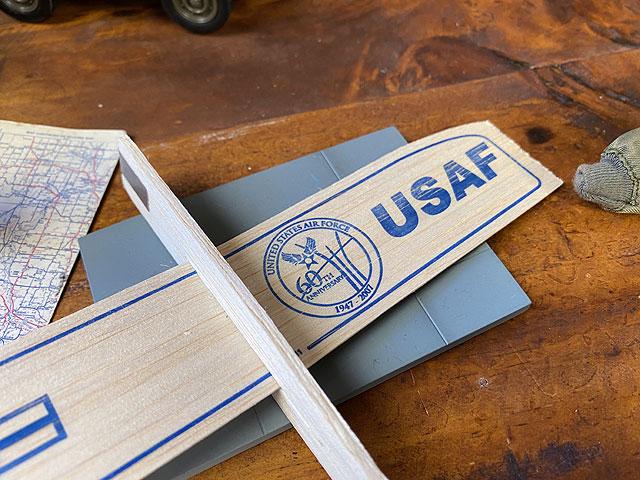 U.S.エアフォースの60周年記念グライダー