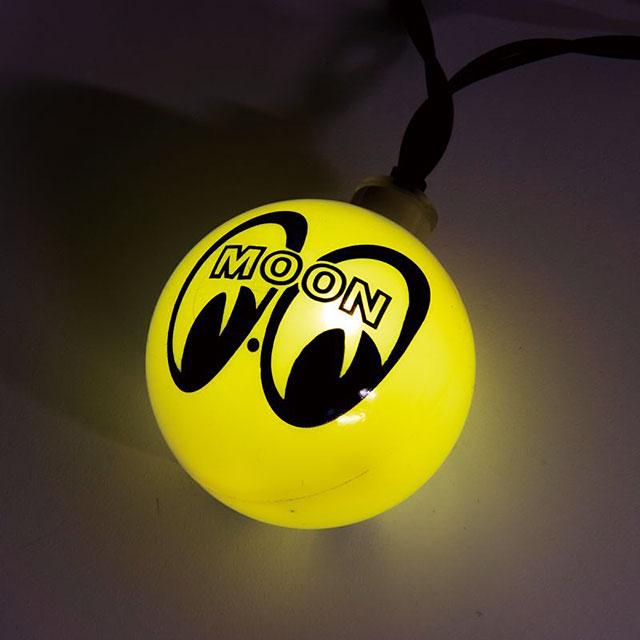 ムーンアイズ アイボールの10連LEDパーティーライト 単三電池式