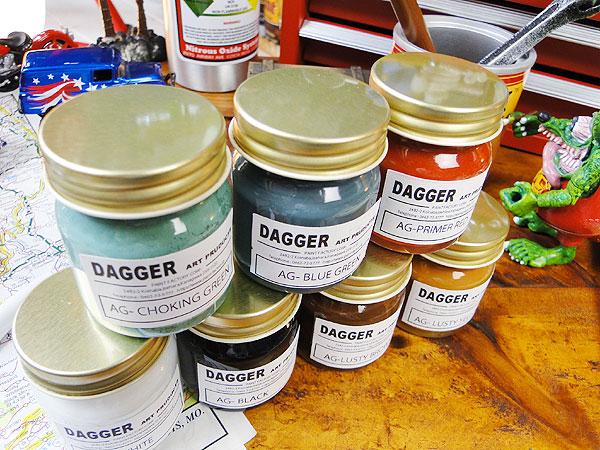 サビサビ塗装用のオリジナル塗料7色フルセットお試しサイズ(50ml)