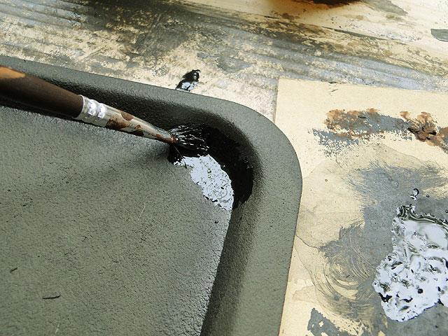サビサビ塗装用のオリジナル塗料単色(ブラック)50mlサイズ