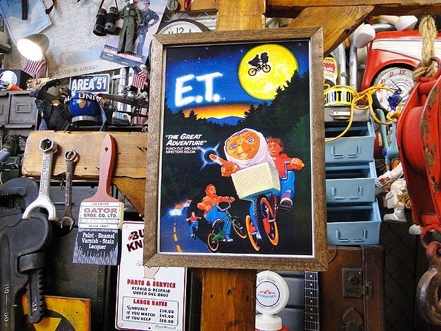 ポスターフレーム(E.T./フライングシーン)