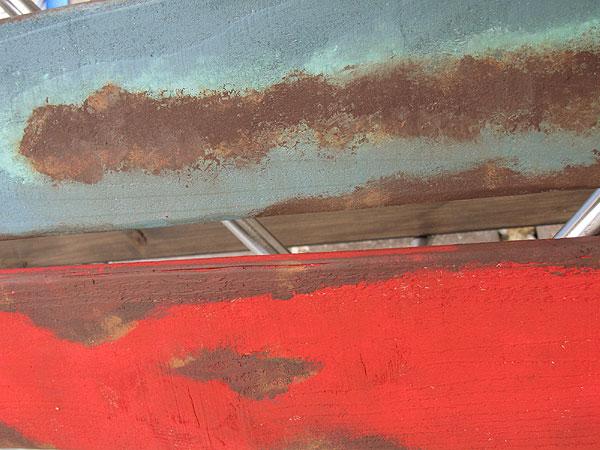 サビサビ塗装用のオリジナル塗料単色(チョーキンググリーン)50mlサイズ