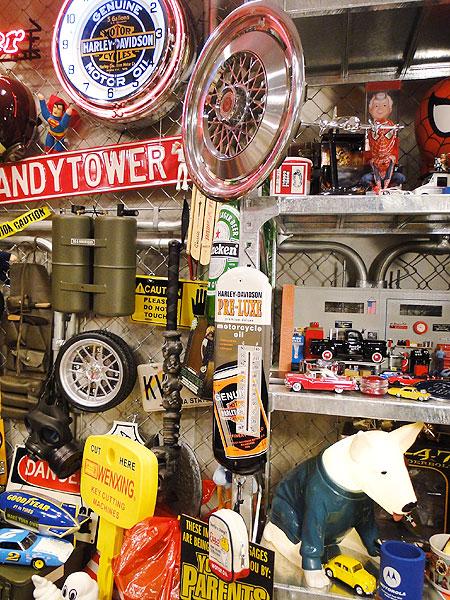ハーレーダビッドソンオイル缶サーモメーター
