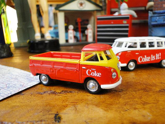 コカ・コーラ フォルクス・ワーゲンの名車ミニカー 3種セット 1/72スケール