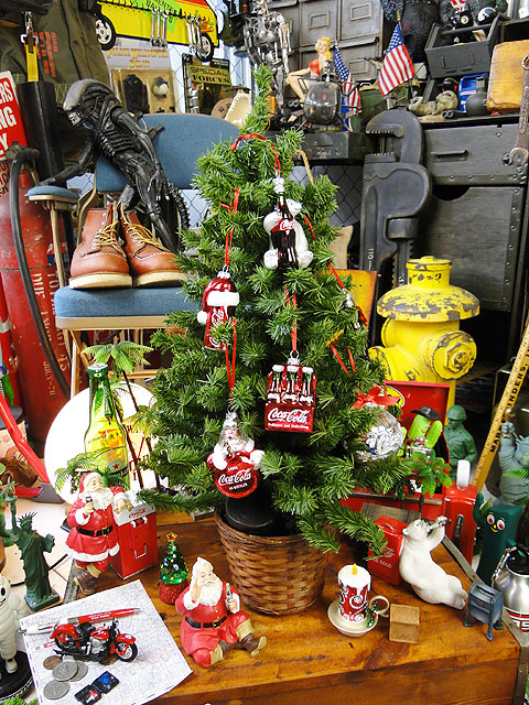 コカ・コーラブランド クリスマスオーナメント(サンタクロース)