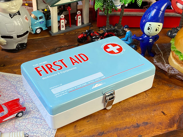 ダルトン ユーティリティボックス ファーストエイド(サックス) 救急箱