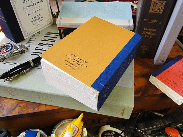 洋書みたいなノートブック ツールズラフノート(Lサイズ/オレンジ/極厚A6サイズ)