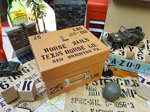 すぐに始められる!U.S.ミリタリーステンシルスタンプ(Sサイズ&Mサイズ)のスターターセットスタンプ42Pセット×2セット+専用インク