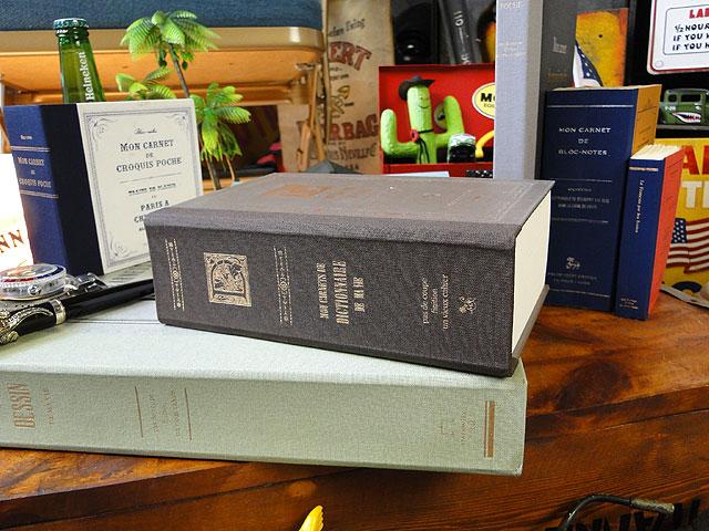 洋書みたいなノートブック ツールズラフノート(Lサイズ/ライトブラウン/極厚辞書タイプ)