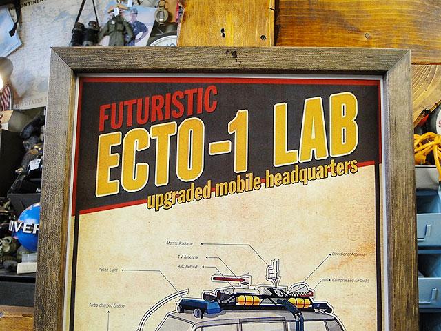ポスターフレーム(ゴーストバスターズ/ECTO-1 LAB)