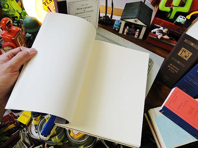 洋書みたいなノートブック ツールズラフノート(Lサイズ/ブラック/B5サイズ)