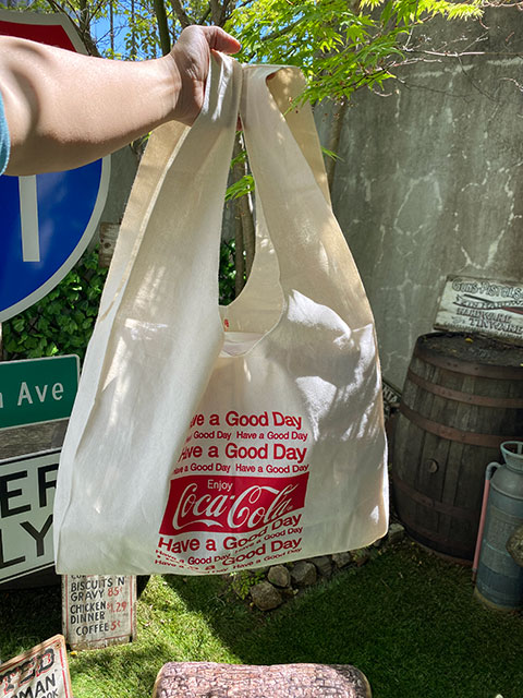 コカ・コーラ ビッグサイズ・マルシェバッグ