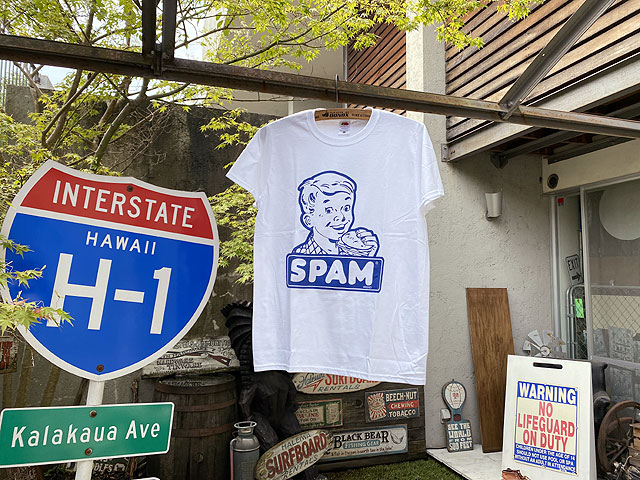 スパムのオフィシャルTシャツ(クラシックロゴ)