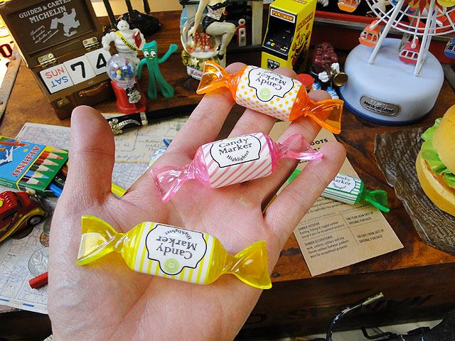 キャンディーマーカー 蛍光ペン5色セット