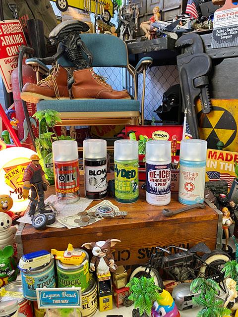 ダルトン スプレー缶のシークレットボックス(全5缶セット)