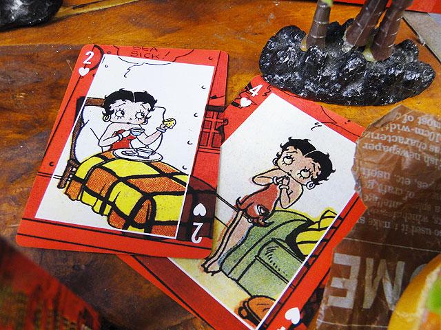 ベティ・ブープのコミックトランプ
