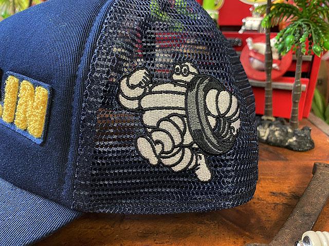 ミシュラン メッシュキャップ(サガラ刺繍ロゴ)
