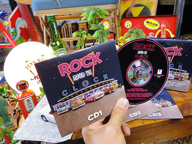 オールディーズ・ミュージック缶 3枚組(ロック・アラウンド・ザ・クロック)