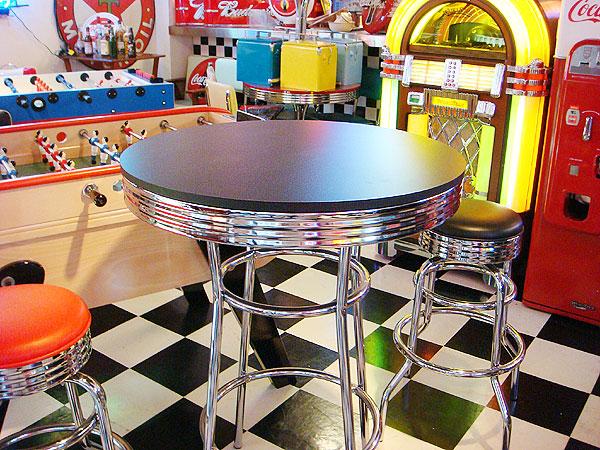 アメリカンバーテーブル