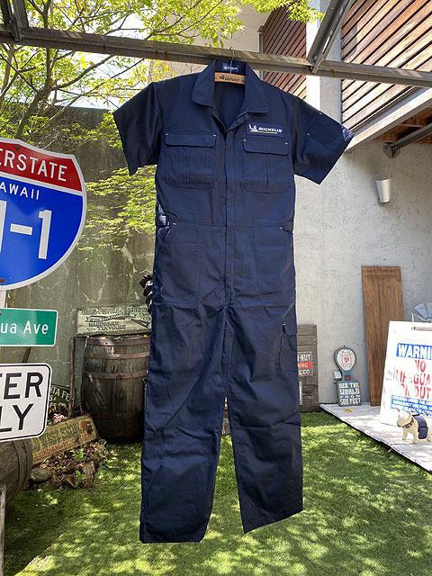 ミシュラン つなぎ ジャンプスーツ(半袖タイプ)