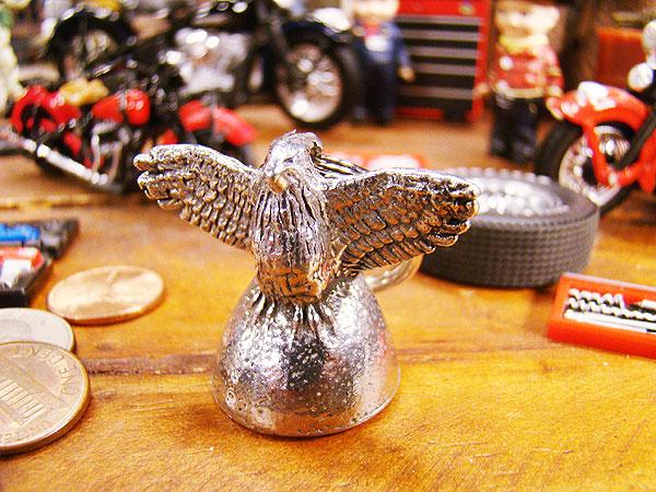 アメリカのバイカーのお守りガーディアンベル(イーグル)