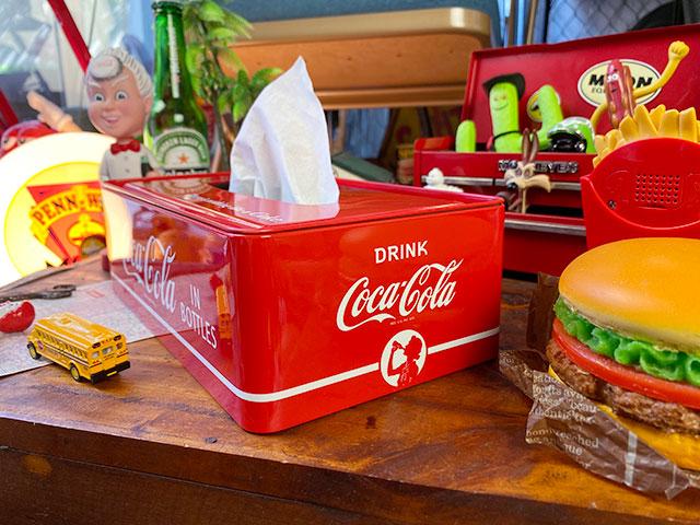 コカ・コーラ ティッシュケース