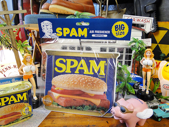 スパム缶のビッグサイズ・エアーフレッシュナー