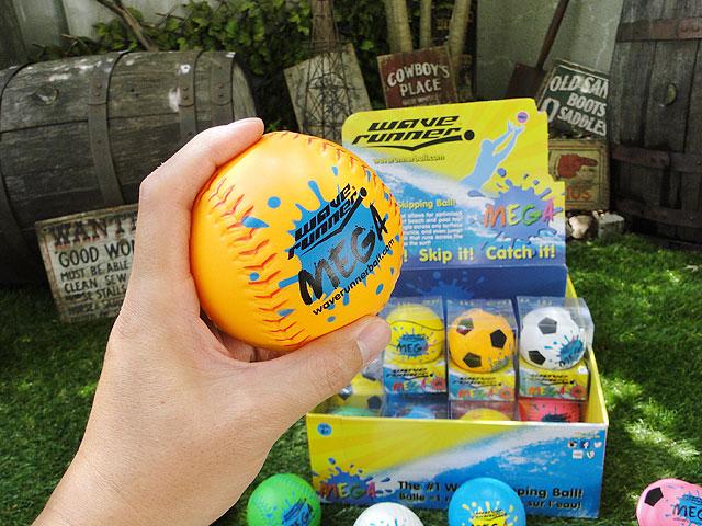 水面をバウンドする新感覚なウォーターボール ウェーブランナー メガ
