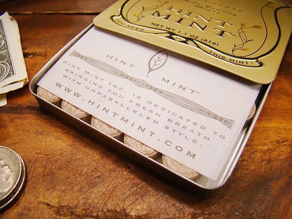 ハリウッドセレブが愛用する幻の高級ミントヒントミント(チョコレートミント)