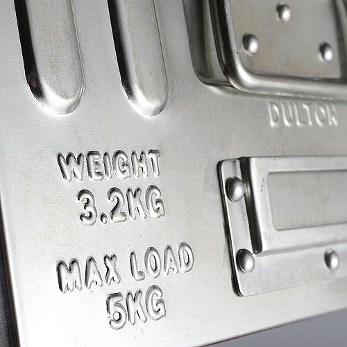 ダルトン D.M.S. ガレージボックス 16リットル Lサイズ(ガルバナイズド)