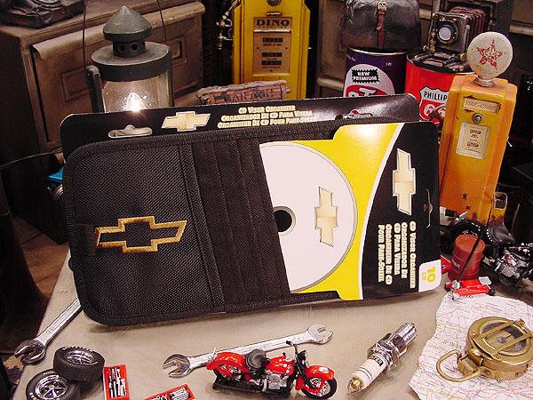 シボレー・サンバイザー用CDポケット
