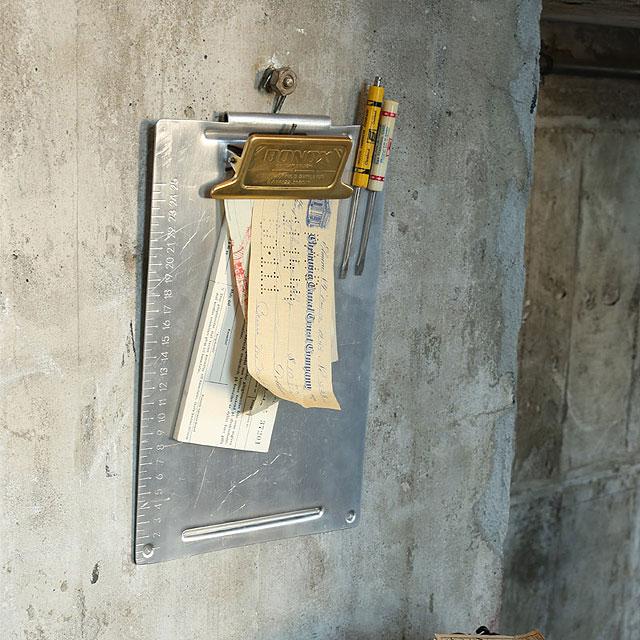 ダルトン ボノックス・メタルクリップボード A4サイズ(ブラス)