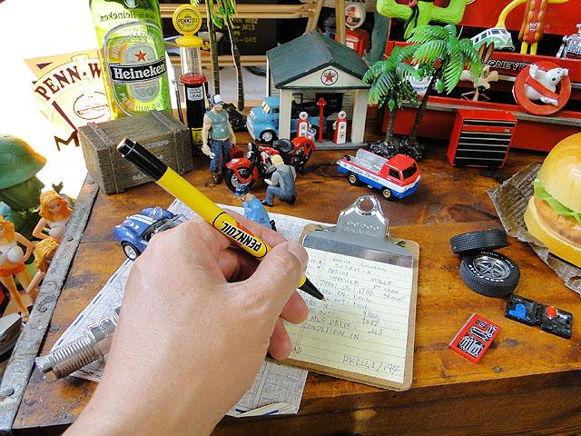 ペンズオイルのボールペン