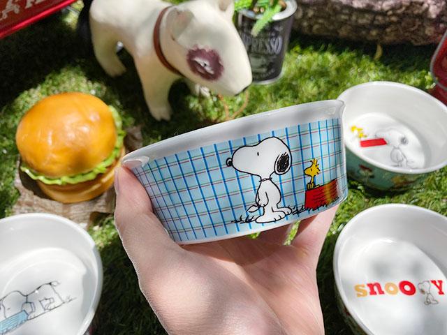 スヌーピーのドッグディッシュ(全6種セット)ペットボウル 犬用食器 猫 フードボウル エサ皿