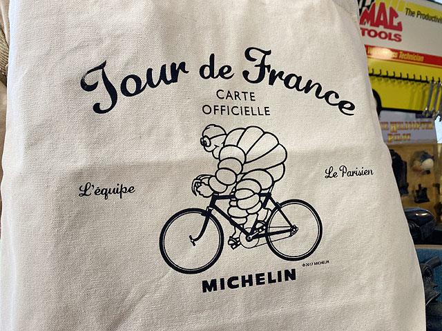 ミシュラン 2WAYトートバッグ(ツール・ド・フランス/アイボリー)
