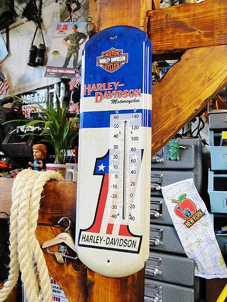 ハーレーダビッドソンのサーモメーター#1