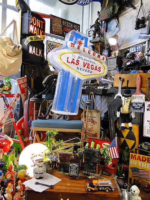 ラスベガスサインのインフレータブル