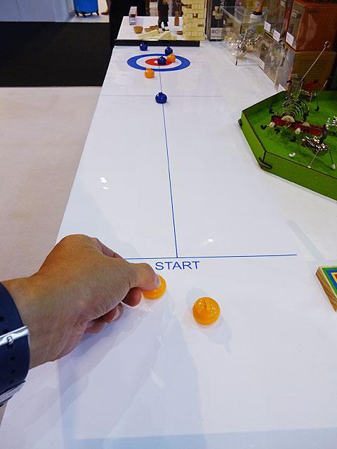 テーブルトップ・カーリングゲーム